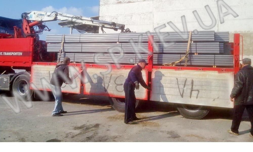 консоль для ворот со склада погрузка СП Киев